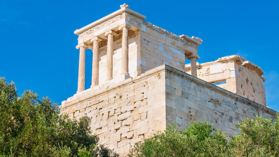 Acropolis - Temple of Wingless Victory (Athena Nike)