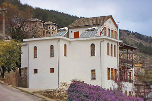 A traditional 19th-century home-turned guesthouse - Hotel Kalemi, Gjirokastra, Albania