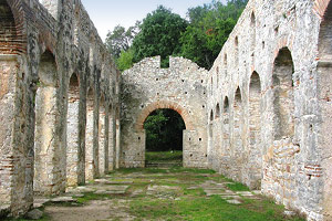 Butrint National Park encompasses parkland strewn with the well-preserved bones of a Greco-Roman city