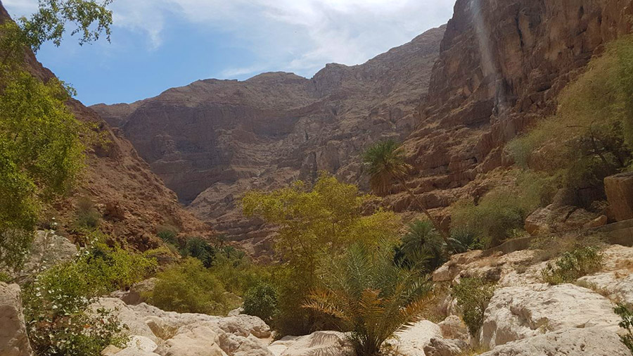 Epic landscape of Oman with many stunning mountains