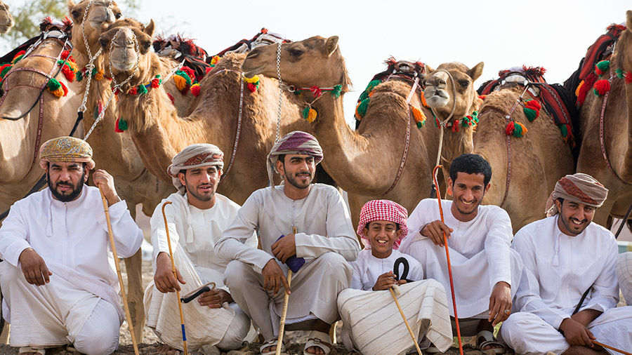 Friendly and relaxed people of Oman