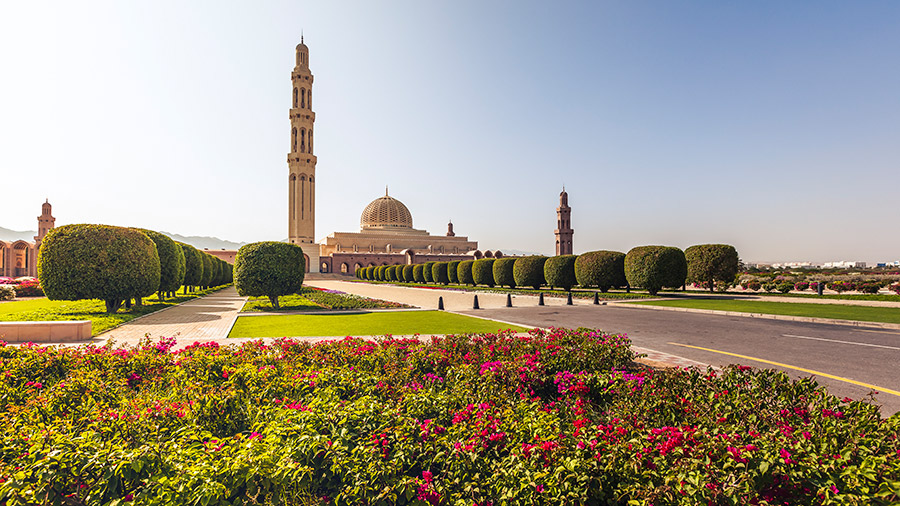 Grand Mosque Muscat Oman
