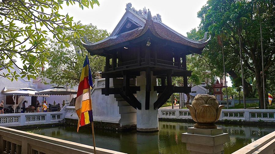 Hanoi's famed One Pillar Pagoda