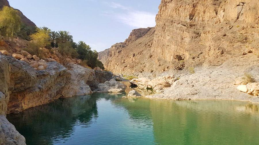 In Wadi Shad Oman