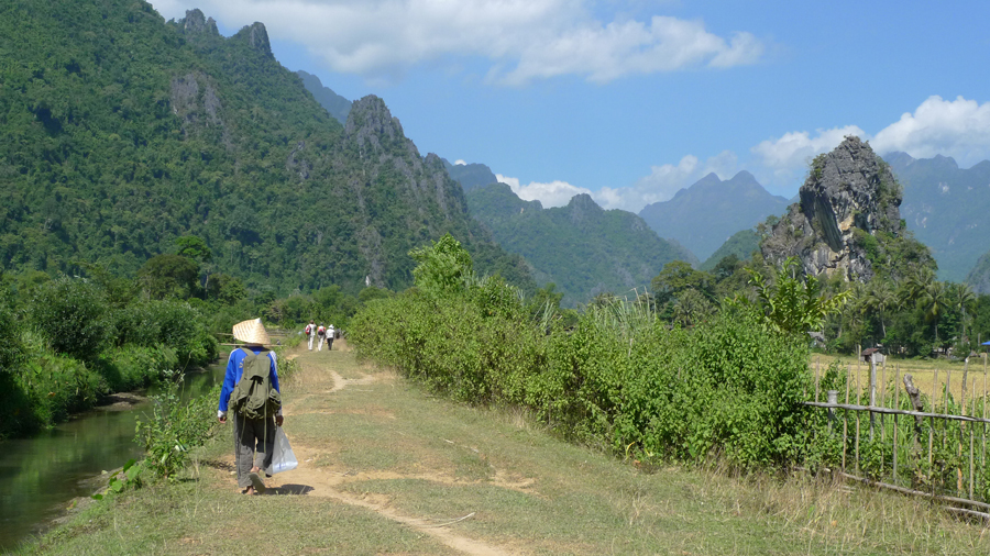 Keen for more adventure in Vang Vieng's gorgeous surrounds