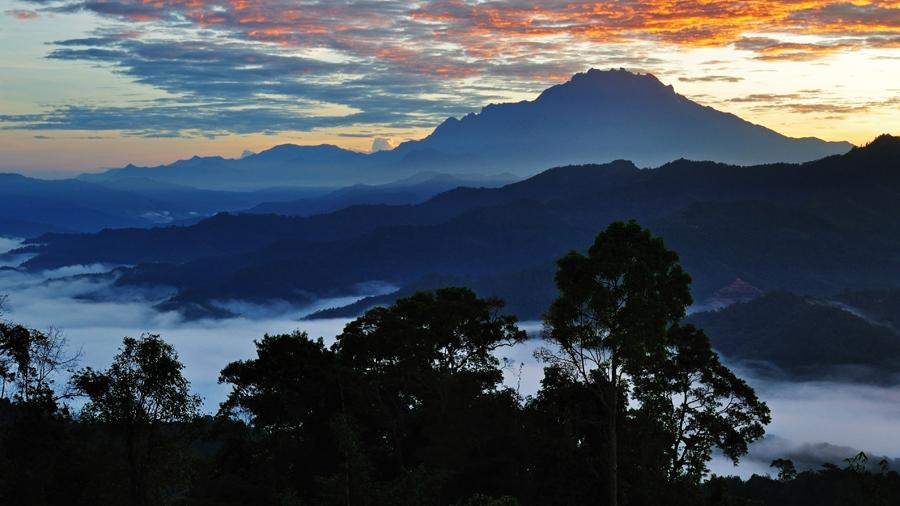 Mount Kinabalu is Malaysia's highest peak and biggest challenge