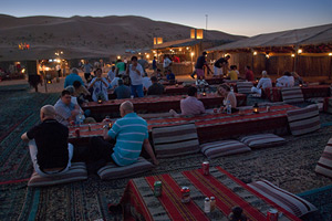 Night at bedouin camp with barbecue dinner, Dahab - Egypt