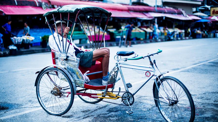 Rickshaw in Chiang Mai