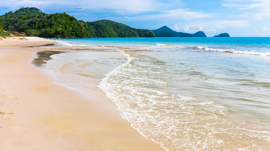 Sandy beaches of the Langkawi archipelago