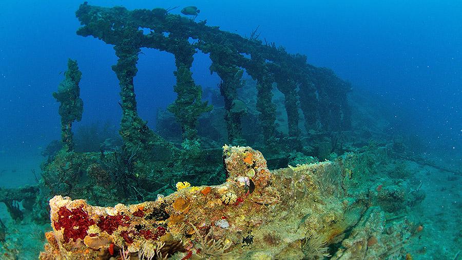 Seven underwater wonders of the Caribbean - RMS Rhone Marine Park, British Virgin Islands