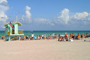 South Beach, also nicknamed SoBe, is a neighborhood in the city of Miami Beach, Florida