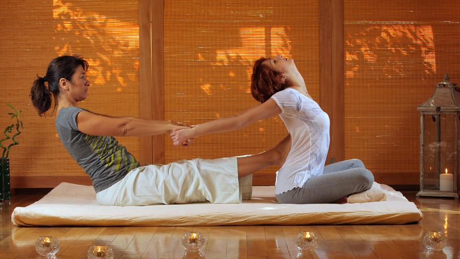Thai massage in full comfort