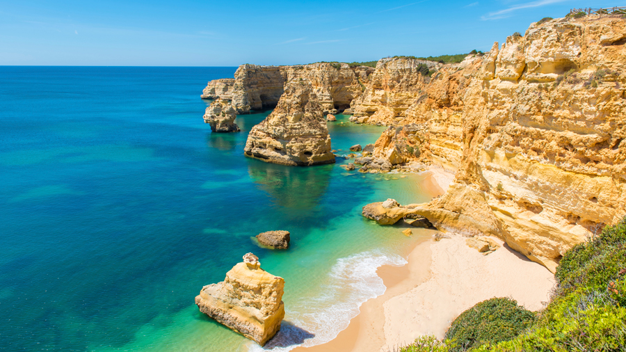 The Atlantic-carved coast of sandstone cliffs and scooped out beaches was once outside the known world