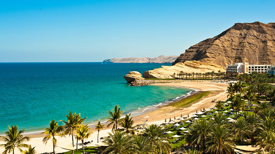 The beaches are also great in Oman