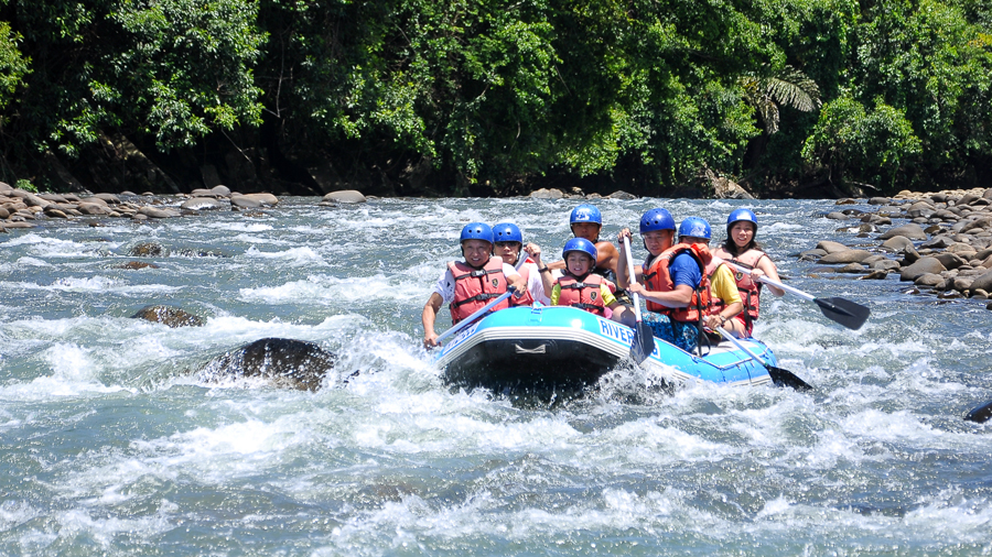 The Malaysian Peninsula has become a white water rafting hub