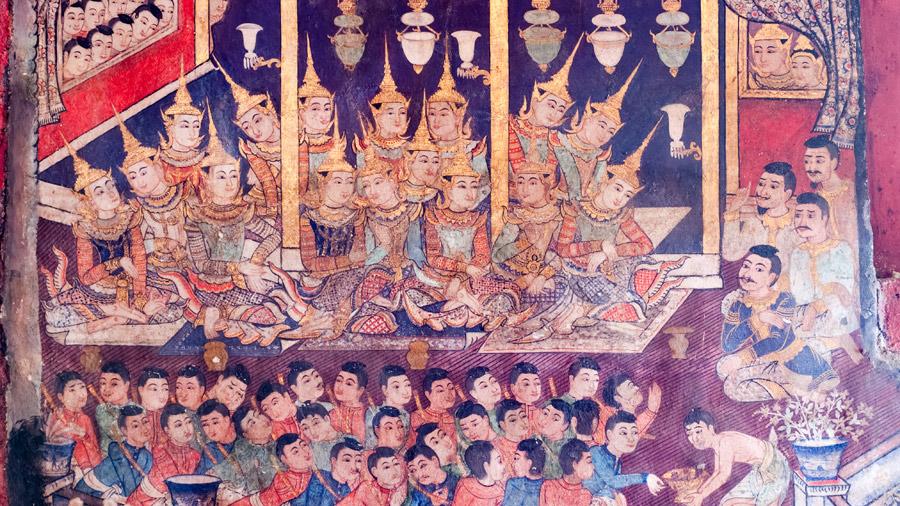 Wat Phra Singh murals