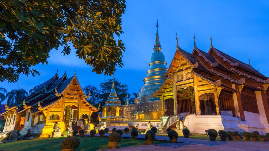 Wat Phra Singh site