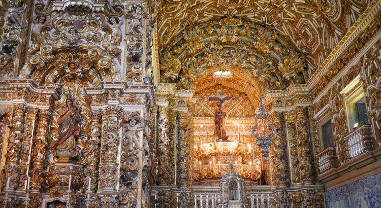 Sao Francisco church, Salvador, Brazil
